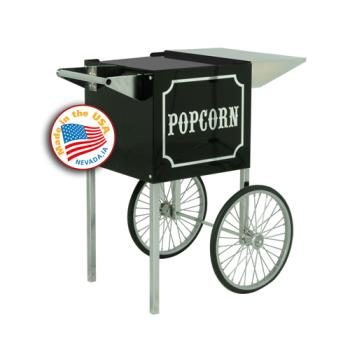 PAR3080820 - Paragon - 3080820 - Cart for 1911 4 oz. Popcorn Popper, Black & Chrome Product Image