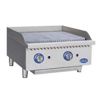 GLOGCB24GCR - Globe - GCB24G-CR - 24 in Radiant Gas Charbroiler Product Image
