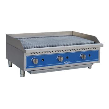 GLOGCB36GSR - Globe - GCB36G-SR - 36 in Radiant Gas Charbroiler Product Image