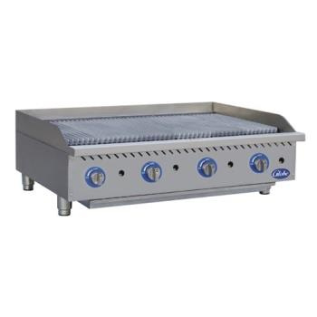 GLOGCB48GCR - Globe - GCB48G-CR - 48 in Radiant Gas Charbroiler Product Image