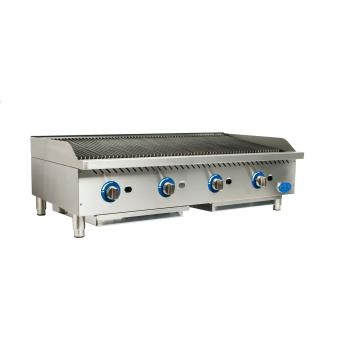 GLOGCB48GRK - Globe - GCB48G-RK - 48 in Char Rock Gas Charbroiler Product Image