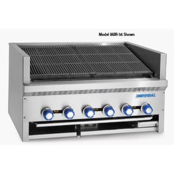 IMPIABR72 - Imperial - IABR-72 - 72 in Radiant Countertop Steakhouse Broiler Product Image