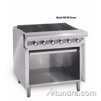 "IMPIHRRB - Imperial - IHR-RB - Diamond Series 36"" Radiant Charbroiler w/ Cabinet Product Image"