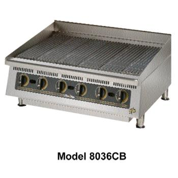 STA8024CB - Star Manufacturing - 8024CBA - Ultra-Max® 24 in Lava Rock Gas Charbroiler Product Image