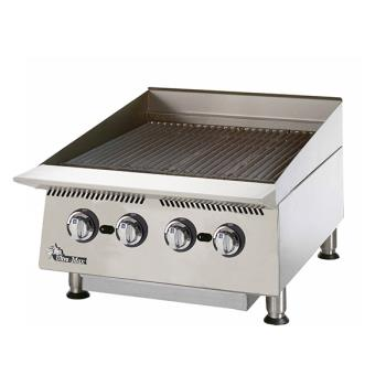 STA8024CB - Star - 8024CBB - 24 in Ultra-Max® Lava Rock Gas Charbroiler Product Image