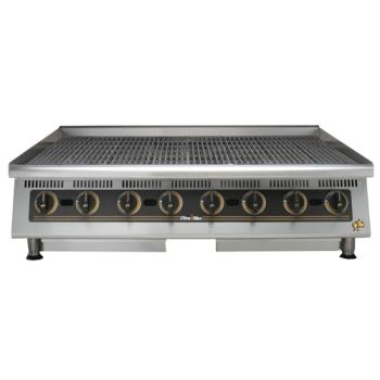 STA8048CB - Star Manufacturing - 8048CBA - Ultra-Max® 48 in Lava Rock Gas Charbroiler Product Image
