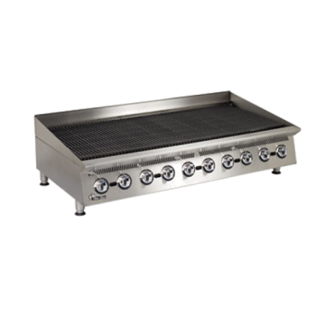 STA8060CB - Star - 8060CBA - 60 in Ultra-Max® Lava Rock Gas Charbroiler Product Image