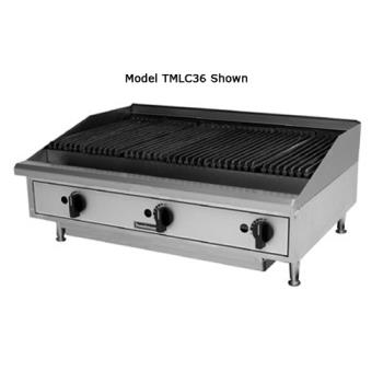 TOATMLC24 - Toastmaster - TMLC24 - 24 in Pro-Series™ Countertop Lava Rock Gas Charbroiler Product Image