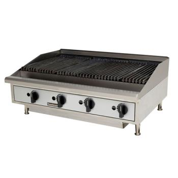 TOATMLC48 - Toastmaster - TMLC48 - 48 in PRO-SERIES™ Countertop Lava Rock Gas Charbroiler Product Image