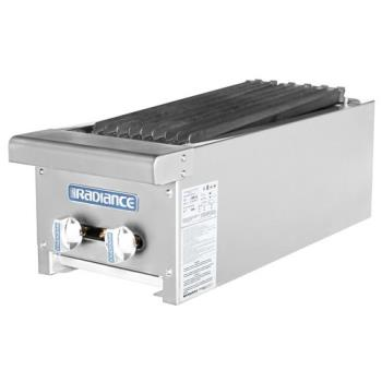TURTARB12 - Turbo Air - TARB-12 - Radiance 12 in Radiant Countertop Charbroiler Product Image
