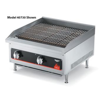 "VOL40728 - Vollrath - 40728 - Cayenne® 12"" Radiant/Lava Rock Charbroiler Product Image"