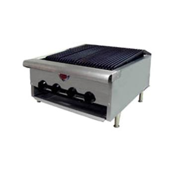 "WELHDCB2430G - Wells - HDCB-2430G - 24"" Gas Charbroiler Product Image"