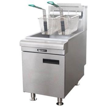 ADMCTF60LP - Adcraft - BDCTF-60/LPG - 60K BTU LP Countertop Gas Fryer Product Image