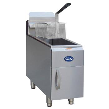 GLOGF15G - Globe - GF15G - 15 lb Natural Gas Countertop Fryer Product Image
