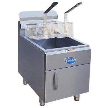 GLOGF30G - Globe - GF30G - 30 lbs Natural Gas Countertop Fryer Product Image