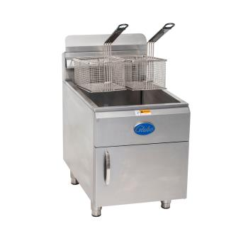 GLOGF30G - Globe - GF30G - 30 lb Natural Gas Countertop Fryer Product Image