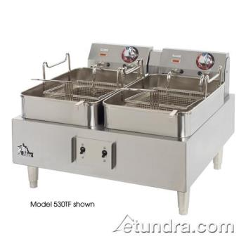 STA530TEF - Star - 530TEF - Star-Max Twin Pot Electric Economy Fryer Product Image
