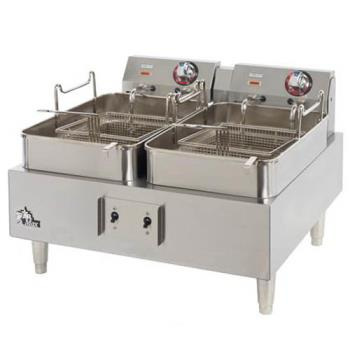 STA530TF - Star - 530TF - Star-Max Twin Pot Electric Fryer Product Image