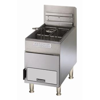 TOATMFG18LP - Toastmaster - TMFG18-LP - Pro-Series™ 18 lb Tank Countertop LP Gas Fryer Product Image
