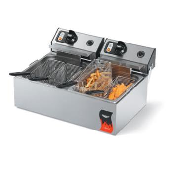 VOL40708 - Vollrath - 40708 - Cayenne® Dual 220V Countertop Fryer Product Image