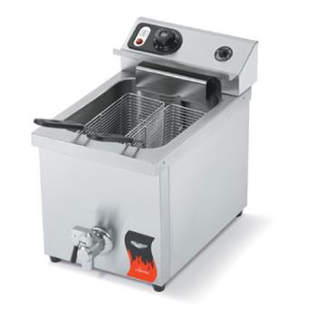 VOL40709 - Vollrath - 40709 - Cayenne® Single Countertop Fryer w/Drain Product Image