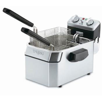 WARWDF1500B - Waring - WDF1500B - 15 Lb Electric Countertop Fryer - 208V Product Image