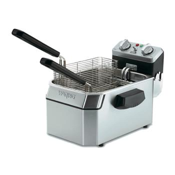 WARWDF1500B - Waring - WDF1500B - 15 lb Electric Countertop Fryer Product Image