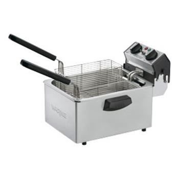 WARWDF75B - Waring - WDF75B - 8 1/2 Lb Electric Countertop Fryer - 208V Product Image