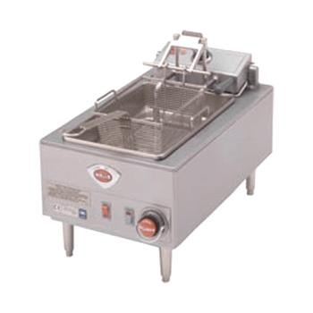WELF58 - Wells - F-58 - 15 lb. Full Basket Single Pot Electric Fryer   Product Image