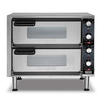 WARWPO350 - Waring - WPO350 - Double Deck Countertop Pizza Oven Product Image