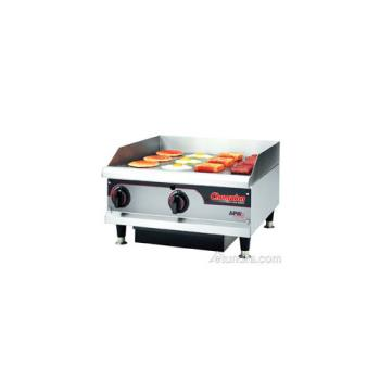 95221 - APW Wyott - GGM-36I - 36 in Manual Control Countertop Gas Griddle Product Image