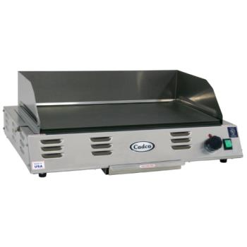 CDOCG10 - Cadco - CG-10 - 120V/1500W Electric Countertop Griddle Product Image