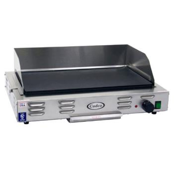 CDOCG20 - Cadco - CG-20 - 220V Electric Countertop Griddle Product Image