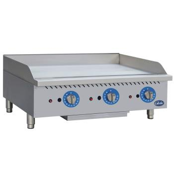 GLOGG36TG - Globe - GG36TG - 36 in Thermostatic Controlled Natural Gas Countertop Griddle Product Image