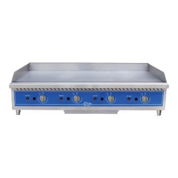 GLOGG48TG - Globe - GG48TG - 48 in Thermostatic Controlled Natural Gas Countertop Griddle Product Image