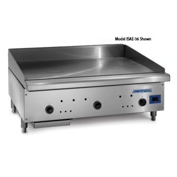 "IMPISAE48 - Imperial - ISAE-48 - 48"" Snap Action Gas Griddle Product Image"