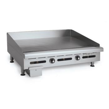 IMPITG24 - Imperial - ITG-24 - 24 in Thermostatically Controlled Gas Griddle Product Image