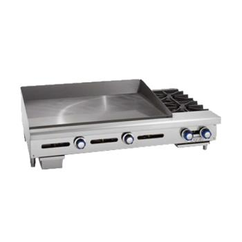 IMPITG48OB2 - Imperial - ITG-48-OB-2 - 48 in Gas Griddle w/ 2 Open Burners Product Image