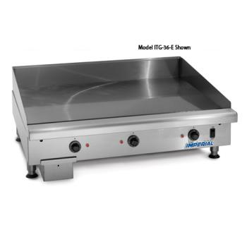 "IMPITG60E - Imperial - ITG-60-E - 60"" Electric Griddle Product Image"