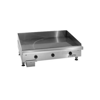 "IMPITG72E - Imperial - ITG-72-E - 72"" Electric Griddle Product Image"