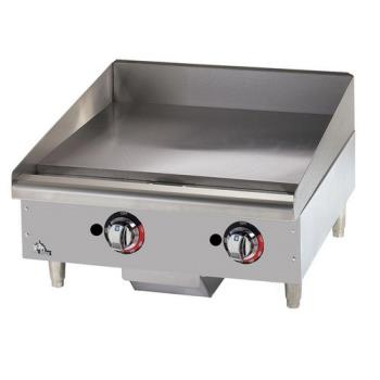 95260 - Star - 624MF - Star-Max® 24 in Manual Control Gas Griddle Product Image