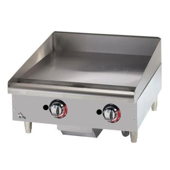 STA624TSPF - Star - 624TSPF - Star-Max® 24 in Gas Griddle with Safety Pilot Product Image