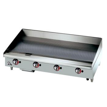 STA648TSPF - Star Manufacturing - 648TSPF - Star-Max® 48 in Gas Griddle with Safety Pilot Product Image