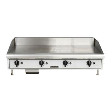 TOATMGT48 - Toastmaster - TMGT48 - 48 in Pro-Series™ Thermostatic Countertop Gas Griddle Product Image