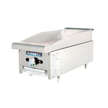 TURTAMG12 - Turbo Air - TAMG-12 - Radiance 12 in Countertop Gas Griddle Product Image