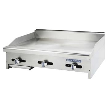 TURTAMG36 - Turbo Air - TAMG-36 - Radiance 36 in Countertop Gas Griddle Product Image