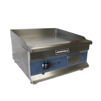"UNWUGRCH20 - Uniworld - UGR-CH20 - Economy 20"" Electric Countertop Griddle Product Image"