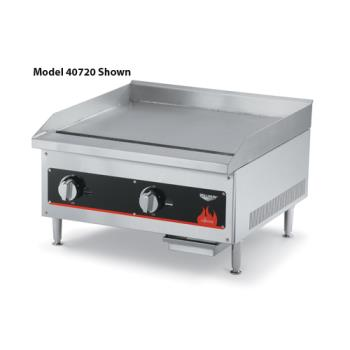 "VOL40718 - Vollrath - 40718 - Cayenne® 12"" Manual Gas Flat Top Griddle Product Image"