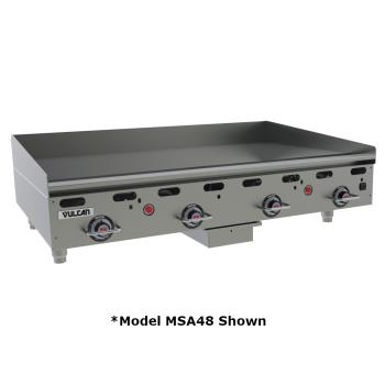 VULMSA24C0100P - Vulcan - MSA24-C0100P - 24 in Countertop Gas Griddle Product Image