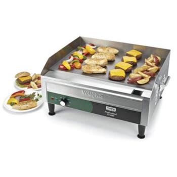 "WARWGR240 - Waring - WGR240 - 24"" x 16"" Countertop Electric Griddle - 240V Product Image"